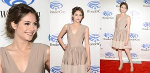 Willa Holland-2013 Wondercon Collage