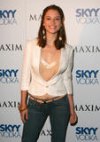 Chyler Leigh looking cute/sexy Summer Maxim party arrivals (6X)