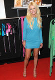 Tara Reid in a sexy blue dress @ Christian Audigier`s Party in Las Vegas, August 25, 2008 - 12HQ