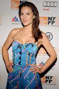 America Olivo @ LENNONYC Premiere - 48th New York Film Festival 9/25/10