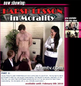 cfnmtv: Harsh Lesson in Morality (Part 1-2)