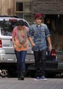 th 55583 Selena6 123 875lo Selena Gomez   at a restaurant in Hollywood 01/10/2012